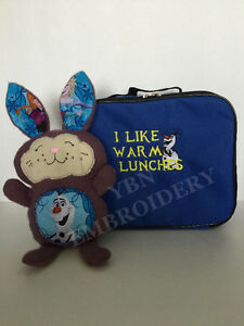 Embroidery Services: Personalize your Backpack, Lunch Box, etc Kitchener / Waterloo Kitchener Area image 1