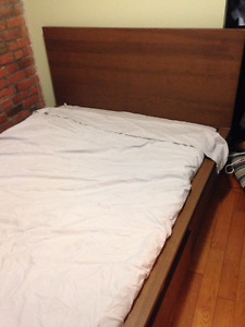 Selling Full Size Bed Frame and Mattress Great Condition