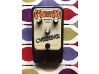 Vintage Colorsound Overdriver pedal