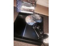 Play station 4 with games