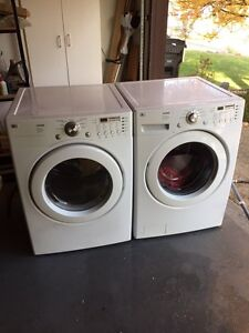 L G Tromm High Capacity Washer and Dryer