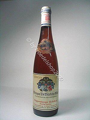 w187) 70,71 €/L  1 Fl. Wein 1971 *RUPPERTSBERGER HOHEBURG* Riesling Spätl.  0,7l online kaufen