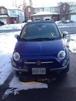 2012 Fiat 500c Convertible- must sell