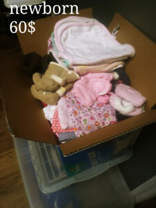 Lots of baby girl clothes! Newborn to 3-6 months