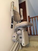 Gently used, almost new stair lift