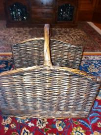 Log or magazines basket.