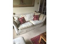 3 and 2 seater sofa / settee