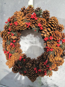 2 Christmas Wreathes $10 for both