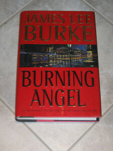 ...An Exciting Novel..BURNING ANGEL by James Lee Burke...