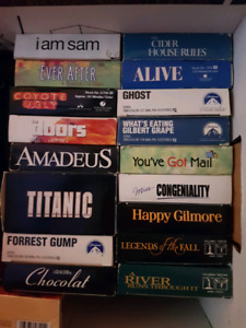 Various VHS movies - all for $5