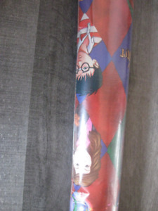 RARE~New Vintage Harry Potter Christmas wrapping paper