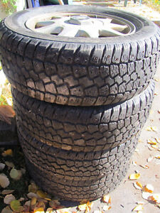 Set of 215/60R15 Tires, Studded, on Chev Rims; Very Good Tread Prince George British Columbia image 5