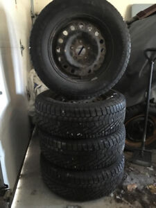 Continental Winter tires on rims