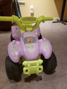 Disney Fairies Tinkerbell Power Wheels Quad Ride On for toddler