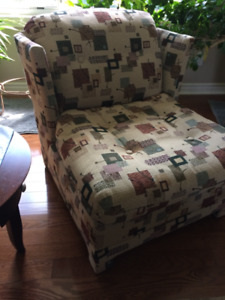 Small conversation chair