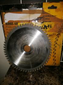 Dewalt 216dia Chopsaw blade Used