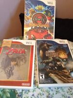 Wii games for sale