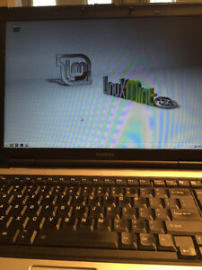 Used Toshiba 2 GB RAM M70-CL1 100E dual Linux / XP laptop
