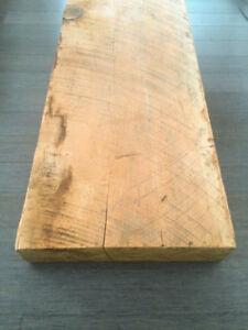 """Massive Ancestral Red BC Fir Wooden Beam (90""""x16""""x6"""")"""
