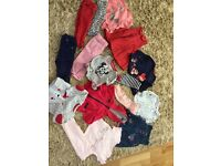 Baby girls clothes bundle to fit 9-12 months in excellent condition