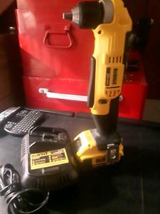 New Dewalt 20v Right Angle Drill.