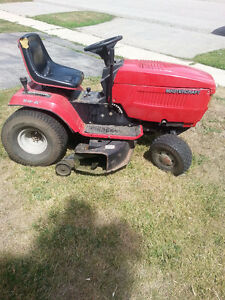 riding lawn mower how to blow air not cut