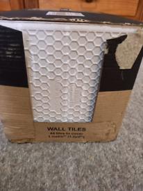 Box Of Cream Square Tiles