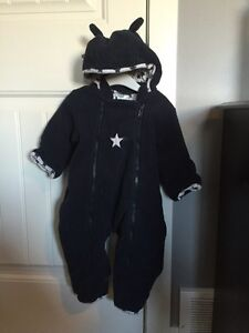 Size 9-12 mos fuzzy winter outfit