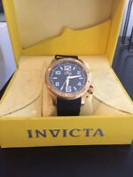 Invicta gold plates watch
