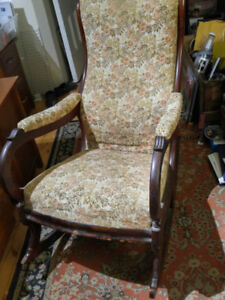 Beautiful Antique Rocker - Very Old, Very Comfortable