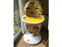 Cosatto 3 Sixti Highchair - Loopi Lemons (Yellow)