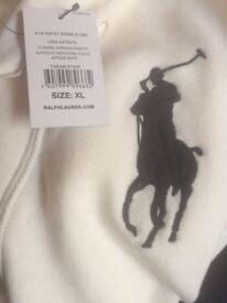 Ralph Lauren Polo Genuine RARE Limited CREAM/OFF WHITE USA Unique Shawl Neck Cardigan 100sales