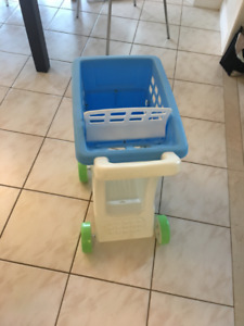 Little tikes kids shopping cart