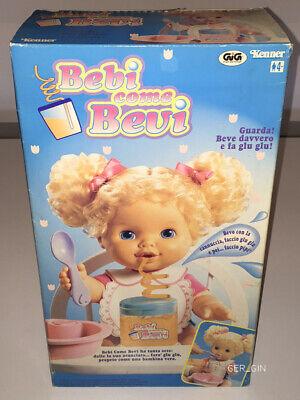 BABY SIP N SLURPDOLL KENNER HASBRO 1995