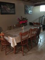 Antique Kitchen dining Table and Chairs -Great Offer