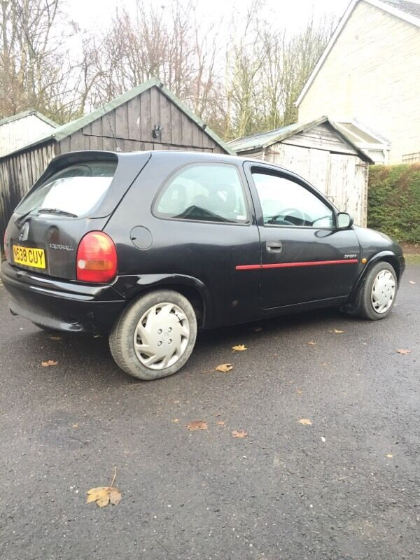 vauxhall corsa b sport sri 1 4 16v 1996 12mth mot in montrose angus gumtree. Black Bedroom Furniture Sets. Home Design Ideas