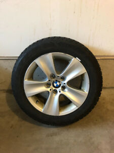 "BMW Rims and Tires - 225/55R/17"" (Winter Tires)"