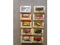 "10 collector's ""LEDO"" cars"