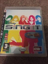 PlayStation 3 Disney Sing It