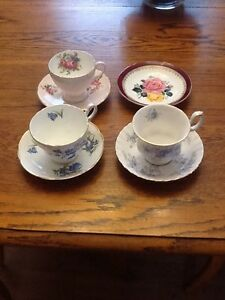 Vintage China teacups and saucers
