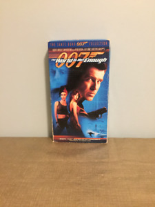 """The World Is Not Enough"" James Bond 007 VHS"