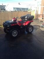 2009 polaris sportman 550 xp