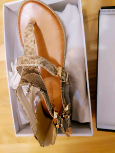 Alexis harrison sandals  size 8 brand new
