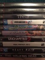 PS3 games 10 FOR200!