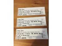 3 Jimmy Carr tickets Scunthorpe Baths Hall December 6th 2016