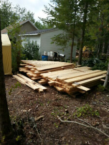 rough pine and spruce-