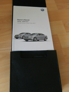 2017 VW owners manual