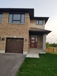 New Semi House fro rent ( Lease ) in Bay Side Belleville