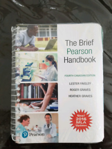 The Brief Pearson Handbook Fourth Canadian Edition