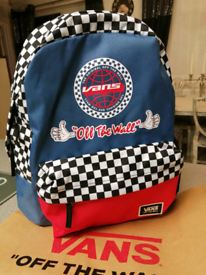 Authentic Brand new Vans off the wall bag rucksack